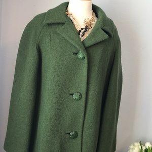 Vintage Mar-Del union made wool large coat